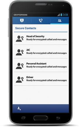 CP500i Secure Contacts
