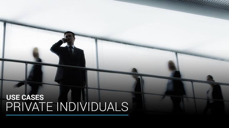 Use Case - Private Individuals